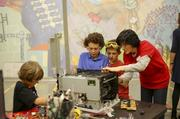The Spark Shop engages older children with amped-up challenges with a treasure trove of interesting tools and materials.
