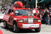 Wiedemann beer was part of the Opening Day Parade.