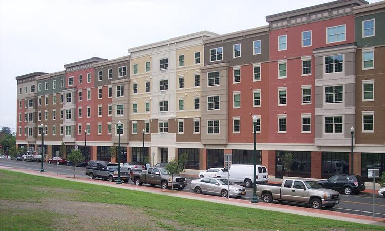 All the retail space and apartments have been filled at CityStation in Troy, NY.