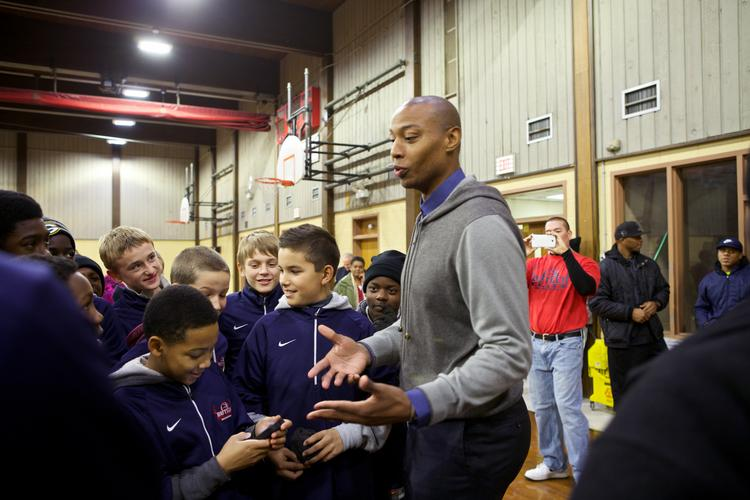 Caron Butler has been heavily involved in the Racine community since joining the Milwaukee Bucks in summer 2013 but he may be headed to Miami.