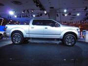 "The Ford Atlas Hybrid concept is described by the company as ""The future vision for pickup trucks."""