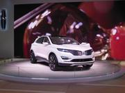 Lincoln has given it's product line a face lift, as seen in the new MKC concept.