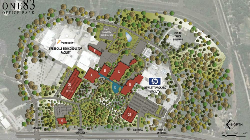 Coa Campus Map.Local Investors Put Massive East Austin Former Freescale Campus On