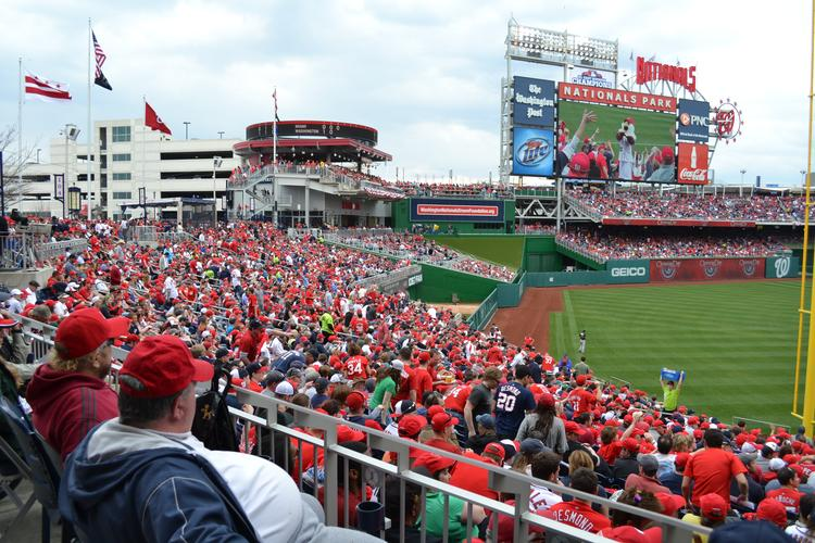 The Washington Nationals and MASN are in a dispute over rights fees.
