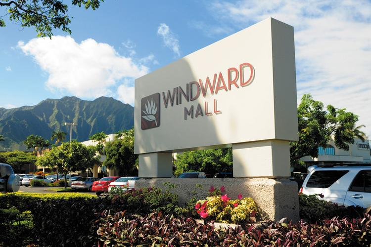 Kamehameha Schools has put the Windward Mall buildings in Kaneohe on the market for sale. The trust will retain ownership of the 33 acres beneath the mall.