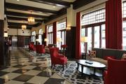 The hotel has 119 guest rooms and 2,200 square feet of meeting space.