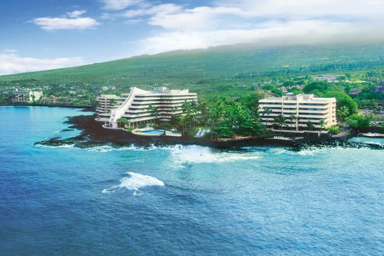 The Royal Kona Resort in Kailua-Kona, Hawaii, is seen in this file photo. Kailua-Kona was No. 1 on TripAdvisor's list of 10 destinations on the rise in the United States