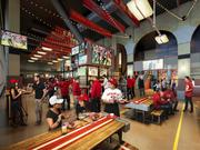 The game-day tailgate incarnation of Michael Mina's restaurant at the 49ers' Levi's Stadium.
