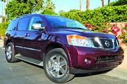 The 2014 Nissan Armada has a list price of $53,595, as pictured.