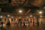 The openness, exposed rafters and tall windows helped convince Cicely McCulloch to resurrect a former tobacco warehouse in Elkin into event space.
