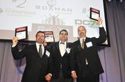 Pictured here are representatives of the top three companies at the 2013 Fast 50 awards. The program recognizes the region's fastest-growing privately held companies. Get an overview of this year's class here, and be sure to check back soon for event photos.