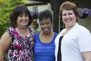 Gateway to Hope patients (Left to Right: Janet H., Chantelle N., Kim S.