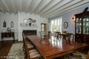 Another look at the dining room at the Severnside Farm manor.