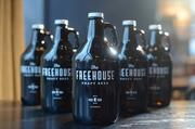 The Freehouse will sell growlers of the beer that Blue Plate is brewing for its restaurants.