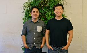 Alex Le (right) and Siqi Chen (left) are two Zynga alums looking to build something to last for a long time.