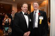 Mark Brown of J.P. Morgan with Tom Monahan of The Corporate Executive Board (and Most Admired CEO in the health category)