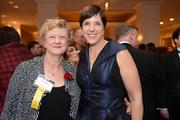 Julie Rogers of the Meyer Foundation (and Most Admired CEO in the nonprofit category), with Nicola Goren of the Washington Area Women's Foundation
