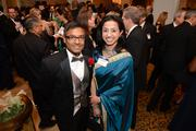 Anup Ghosh of Invincea, a winner in the technology category, with Ayesha Chaudhry of Willis