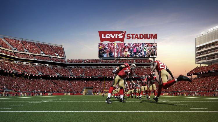 The San Francisco 49ers have released the game schedule for their inaugural season at the $1.3 billion Levi's Stadium in Santa Clara.