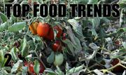 No. 2. The National Restaurant Association's annual What's Hot culinary forecast makes predictions for food trends in 2014. Locally grown produce is the No. 2 food trend.