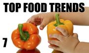 No. 7. The National Restaurant Association's annual What's Hot culinary forecast makes predictions for food trends in 2014. Children's nutrition is the No. 7 food trend.