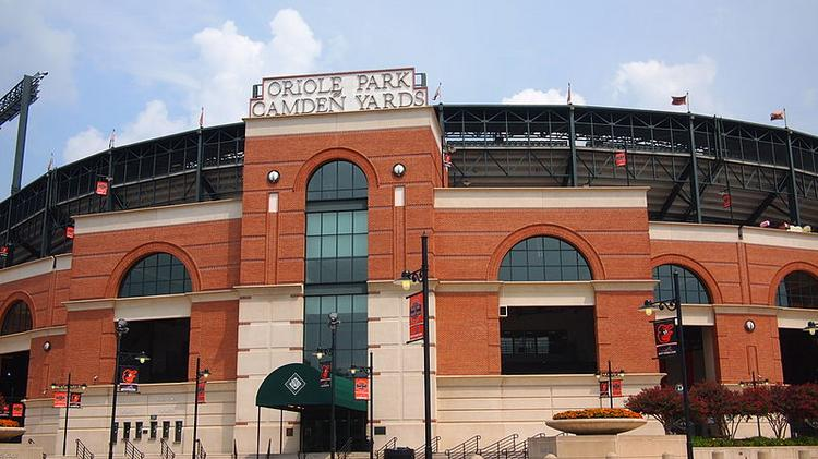 Oriole Park at Camden Yards opened in 1992.