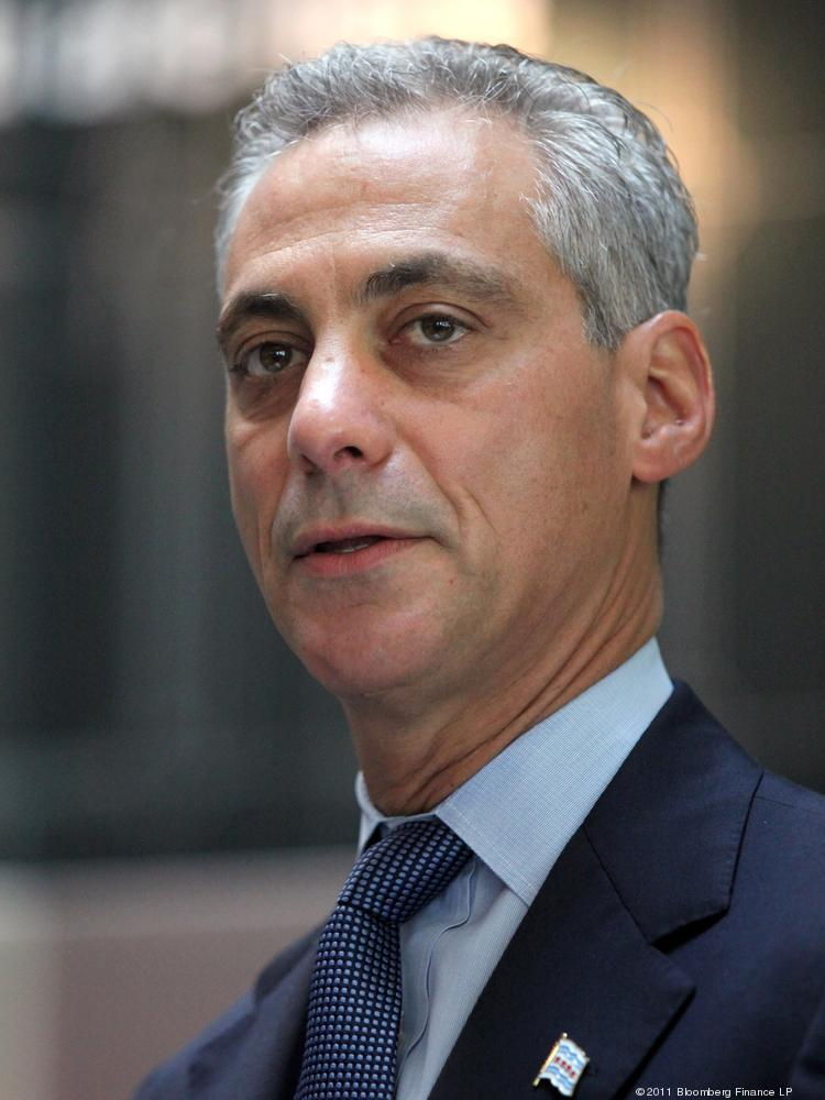 Chicago Mayor Rahm Emanuel wants to attract promising college-run startups to local tech hub 1871.