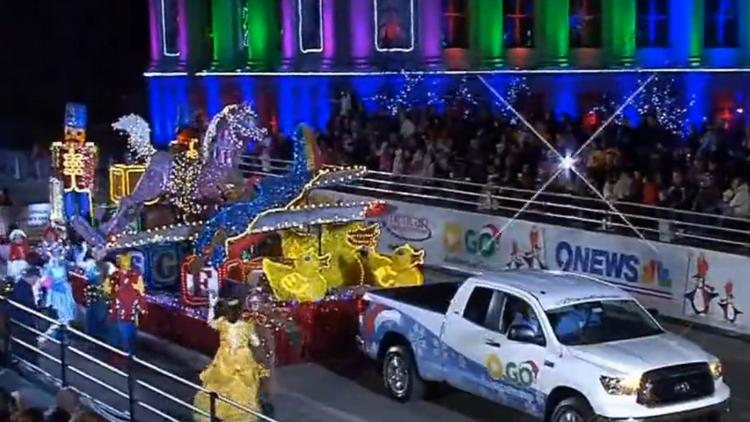 Denver Parade Of Lights Holiday Procession Marches This Weekend