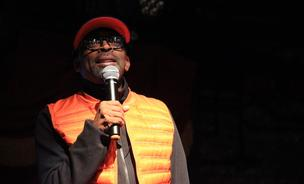 Spike Lee speaks at TedX Brooklyn on Friday, December 6, 2013.