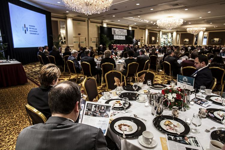 The event drew more than 250 Milwaukee-area business executives.