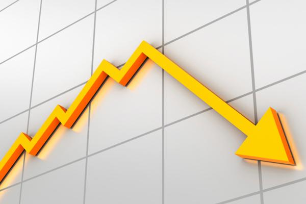 Job growth declined in December.