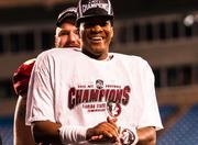Florida State quarterback Jameis Winston was named the game's most valuable player, passing for 330 yards and three touchdowns, and rushing for 68 yards.