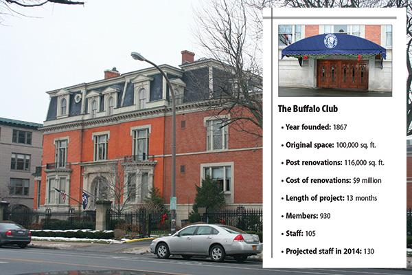 The private club has been a fixture on Delaware Avenue since 1867 and opened membership to women decades ago.