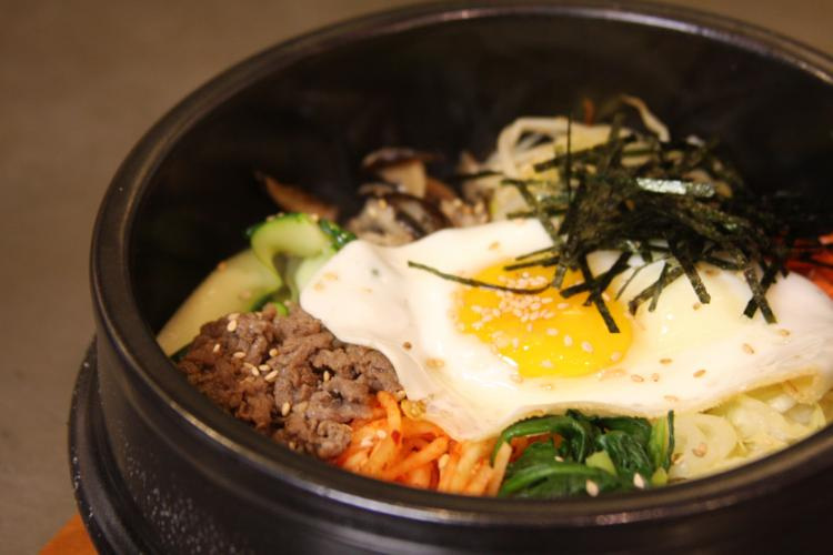 Bi bim bop is one of Stone Bowl Grill's signature dishes.