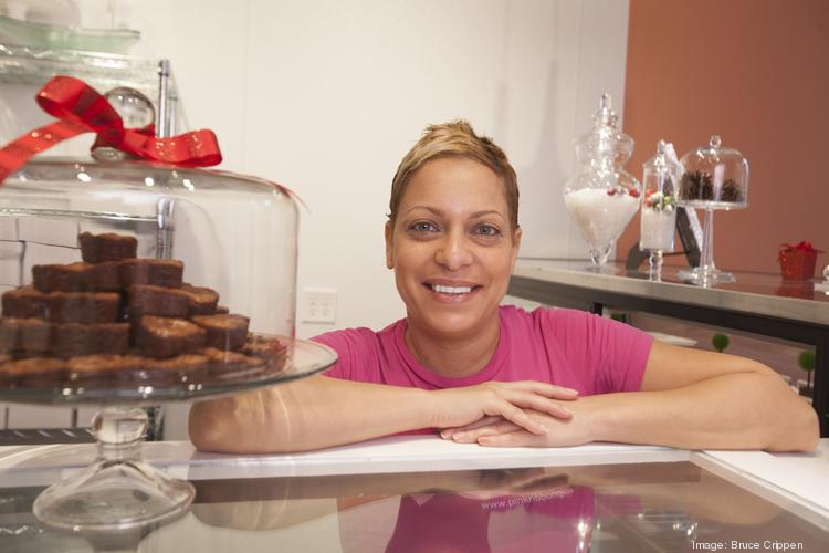 Taren Kinebrew is the primary baker and owner of Sweet Petit Desserts. Her shop is at 1426 Race St. in Over-the-Rhine.