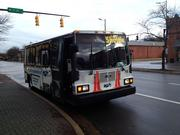 A free, all-electric shuttle is a convenient way to get around parts of downtown.