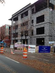 One example of the new construction downtown is the new, four-story headquarters being built for Vision Hospitality Group.