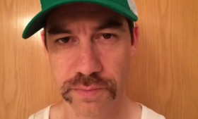 Jesse Dorogusker grew this 'stache out to raise awareness for men's health issues.