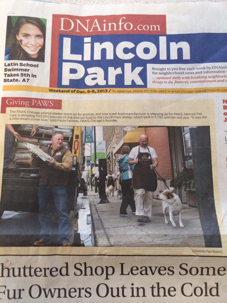 The hyper-local DNAinfo news website is moving into print with a Lincoln Park weekly newspaper.