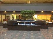 Two Pershing Square recently remodeled the fountain in the building's lobby.