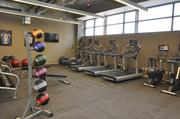 The fitness center at IMA.
