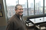 Rob Cohen, CEO of IMA, in his new office.