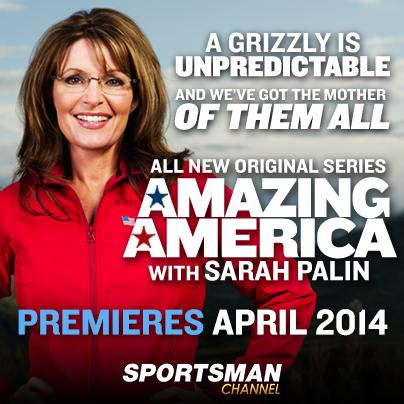 Sarah Palin will return to network television via the Sportsman Channel, which is based in New Berlin.