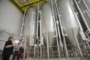 Reporter Nick Halter has seen the inside of most breweries in Minneapolis but the Summit brewery in St. Paul was by far the largest operation around. See more photos from his tour here.