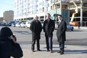 I nearly gave the developers of the 222 Hennepin project frostbite as I made them wait in freezing temperatures for a moment when cars weren't blocking the building behind them. They were on the cover of our 2013 Best in Real Estate Issue.