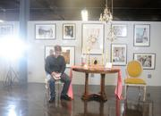 Intern Branden Largent sat in for a lighting test during our tour of The Event Gallery in Uptown. Take a tour of the space here.