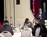 Sacramento Mayor Kevin Johnson was a keynote speaker at the Sacramento Black Chamber of Commerce gala.