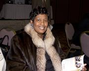 Frazier Construction CEO Evelyn Frazier poses at the Sacramento Black Chamber of Commerce gala.