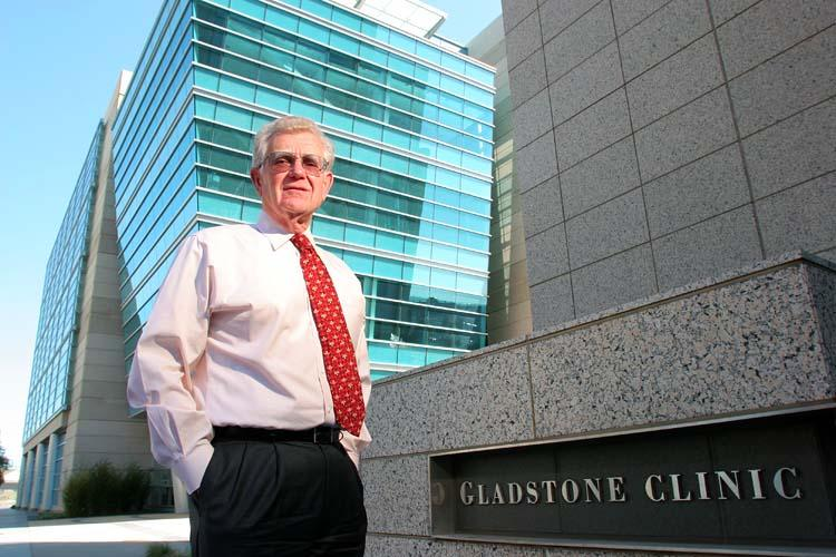 Gladstone's Robert Mahley is aiming at developing a drug that restructures a protein that heightens the genetic risk of developing Alzheimer's disease.