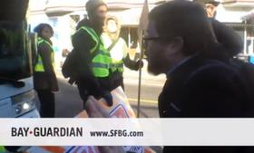 A viral video posted by the San Francisco Bay Guardian purported to show a confrontation between a
